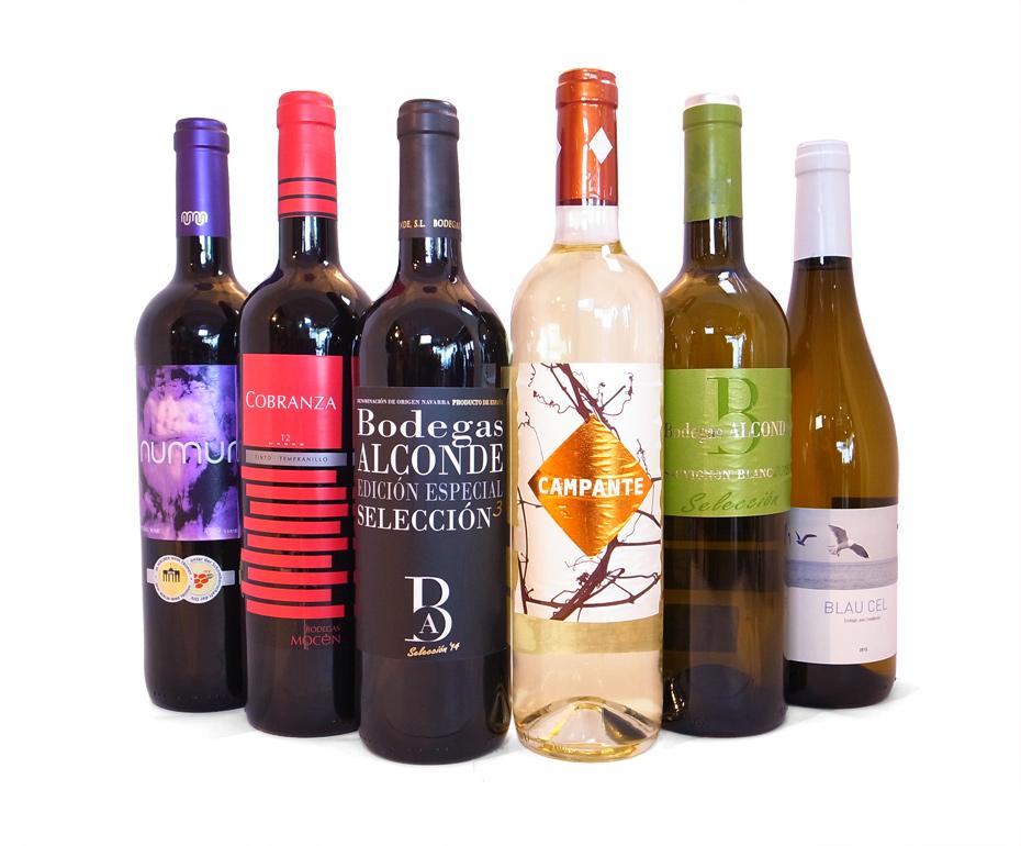 ブティックワイナリーのアートなワイン6本セット